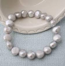 silver pearls bracelet images Silver grey freshwater pearl bracelet by kathy jobson jpg