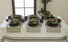 modern table settings dinner table setting thanksgiving table settings ideas modern