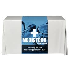 Trade Show Table Runner Trade Show Displays And Custom Fabric Backdrops Custom Exhibit