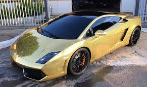gold chrome lamborghini aventador lamborghini gallardo bicolor gold chrome wrap wrapfolio