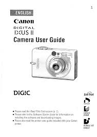 canon digital camera ixus ii pdf user u0027s manual free download u0026 preview