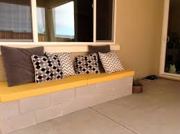 hello daly mini patio project cinder block bench