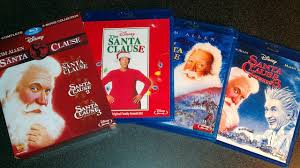 the santa clause trilogy collection blu ray unboxing 1994 2002