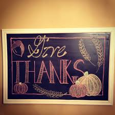 thanksgiving chalkboard incorporate this onto a canvas thanks