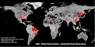 flood map dartmouth flood observatory