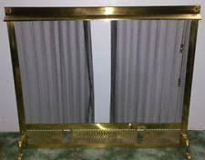 Fireplace Chain Screens - unbranded brass fireplace screens u0026 doors ebay