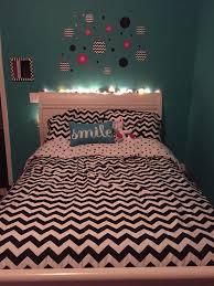 tween bedroom teal pink black u0026 white chevron home ideas