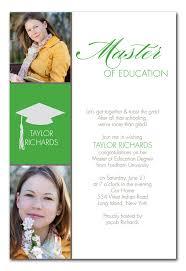 graduation announcements wording college graduation announcements wording sles college masters