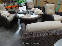 Patio Furniture York Pa by Agio International 5 Piece Fairview Firechat Set Costco New