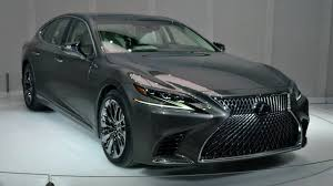 new lexus ls 2017 2018 lexus ls first look 2017 detroit auto show youtube
