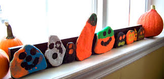 candice ashment art make your own quirky pumpkin rock art for