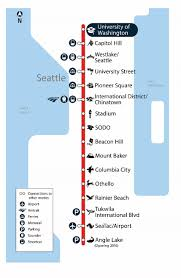 Seattle Light Rail Map Future by Seatac Light Rail Station Map Wiring Free Printable Images World