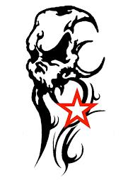 tribal skull design by jayluke2006 on deviantart