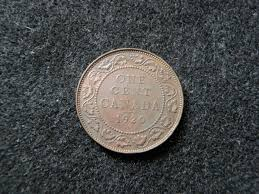What Is A 1943 Copper Wheat Penny Worth by 1920 Canadian Large Cent Canada Penny Copper Coin Old Rare Money