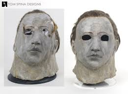 the original mask worn by don shanks in halloween 5 the revenge