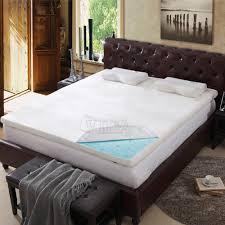 Orthopedic Gel Foam Mattress Topper Tempurpedic Cooling Bed Cover Best Mattress Decoration