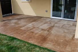 diy simple diy concrete stain patio good home design fantastical