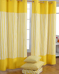 Yellow Stripe Curtains Yellow Striped Curtains Curtains Ideas