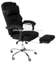 fancy reclining office chair with footrest on home design ideas