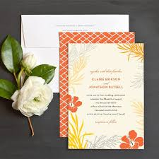 wedding invitations island island bliss wedding invitation suite