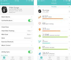 fitbit app android review sony swr10 smartband fitbit surge hughes