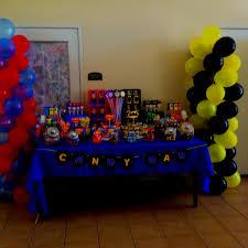 Batman Table Decorations 70 Best Batman Vs Superman Birthday Party Images On Pinterest