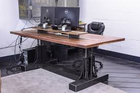 Industrial Computer Desks Post Industrial Desk Vintage Industrial Furniture