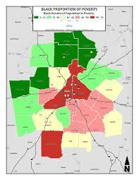 Crime Map Atlanta by The Financial Wall That Divides Metropolitan Atlanta Kevin U0027s Blog
