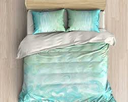 Turquoise Comforter Set Queen Blue Bedding Duvet Cover Comforter Pillow Case Set Purple