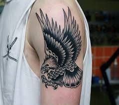 the 25 best traditional eagle tattoo ideas on pinterest old