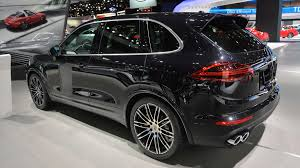 porsche cayenne turbo 2015 porsche cayenne turbo s gets faster more powerful w