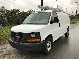 chevrolet express cargo van extended low km king ride auto