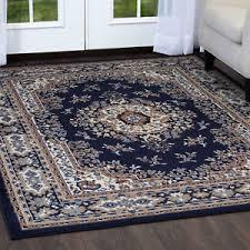 Area Rug 4 X 6 Navy Blue Area Rug 4 X 6 Carpet 69 Actual 3 7