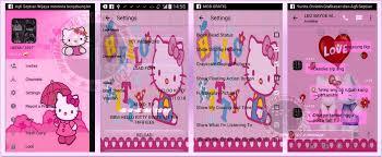 free download bbm kitty themes v2 11 0 18 apk apk mod