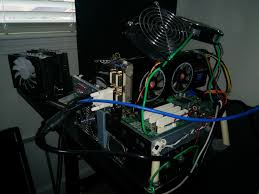 today on the healing bench or rather my test bench an hd 4850