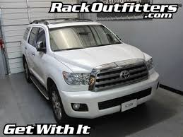 roof rack for toyota sequoia toyota sequoia thule black aeroblade edge base roof rack 08 14