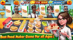 jeux cuisine android jeux de cuisine burger chef 1 08 télécharger l apk pour android