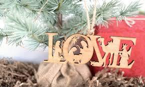 custom wooden ornament frame the alphabet groupon
