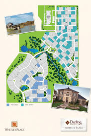 Stonebriar Mall Map The Ridge At Whitley Place In Prosper Texas Darling Homes