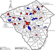 map of lancaster county pa transportation in lancaster county pennsylvania