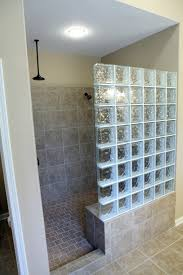 glass block bathroom ideas glass block bathrooms stunning in bathroom home design interior