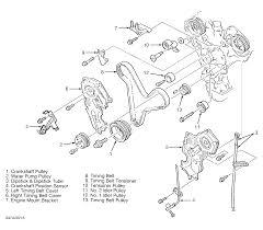 steps to remove 1999 mazda millenia timing belt