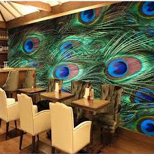 peacock home decor shop south asian wallpaper murals peacock feature for living room