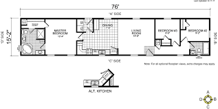 Skyline Manufactured Homes Floor Plans 1994 Mobile Home Floor Plans Home Array