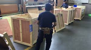 wooden crates packing with nail gun 2 youtube