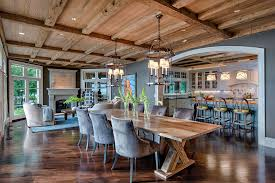 Dining Room Trestle Table Trestle Table Legs Dining Room Farmhouse With Contemporary Exposed
