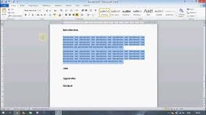 technical report word template microsoft word tutorial creating a professional looking technical