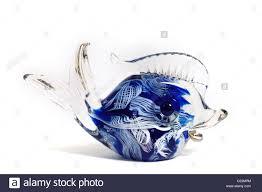 a small italian murano glass fish ornament decorated internally