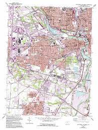 Columbus Ohio Map by Southwest Columbus Topographic Map Oh Usgs Topo Quad 39083h1