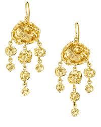 Designer Chandelier Earrings Cornish Uk Handmade Chandelier Earrings In Silver Gold By
